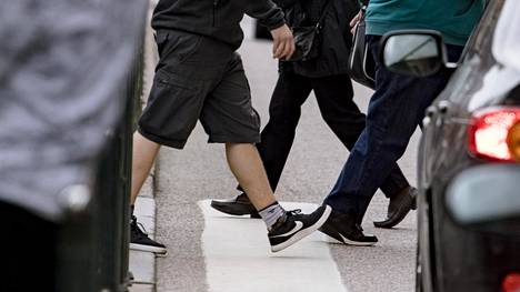 Lukumääräisesti eniten jalankulkijoiden onnettomuuksia sattuu Helsingissä Rautatientorin tuntumassa.