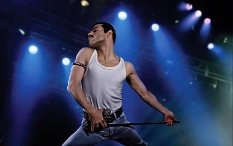 Rami Malek näyttelee rock-ikoni Freddie Mercuryä.