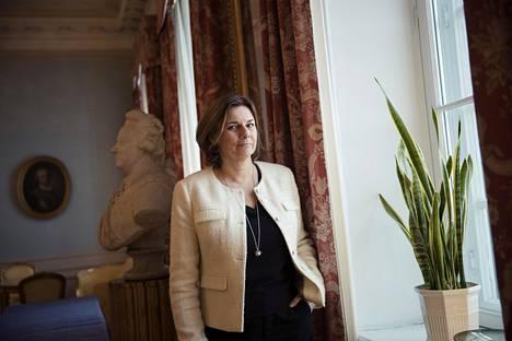 """""""Meidän on tehtävä rohkeita päätöksiä, jos aiomme pelastaa planeetan"""", sanoo Isabella Lövin."""