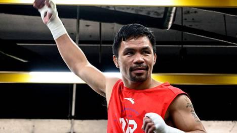 Manny Pacquiao ei ole otellut yli vuoteen.