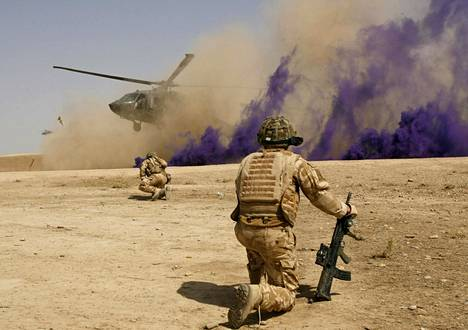 Brittisotilaita Afganistanissa vuonna 2009.