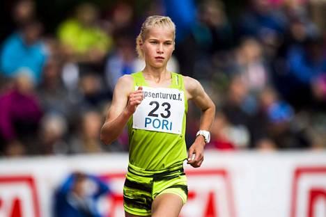 Alisa Vainio valittiin Suomen EM-kisajoukkueeseen.