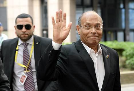 Tunisian presidentti Moncef Marzouki.