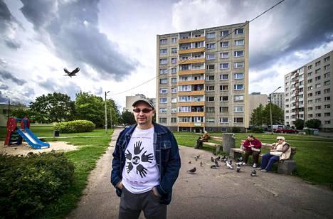 Andrei Ivanov Tallinnassa Lasnamäen kaupunginosassa.