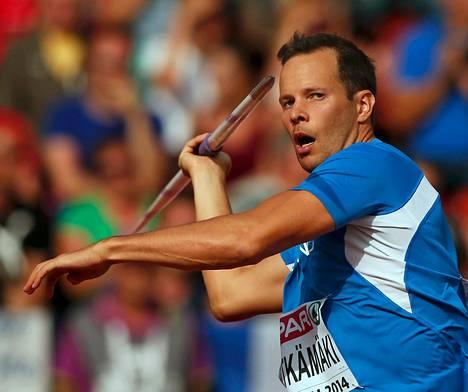 Tero Pitkämäki tiesi kolmen kierroksen jälkeen, ettei hänestä ole mestariksi.