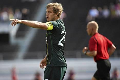 Vielä elokuussa Teemu Pukki esiintyi Helsingin Olympiastadionilla Glasgow Celticin paidassa.