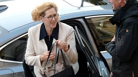 Työministeri Tuula Haatainen (sd).