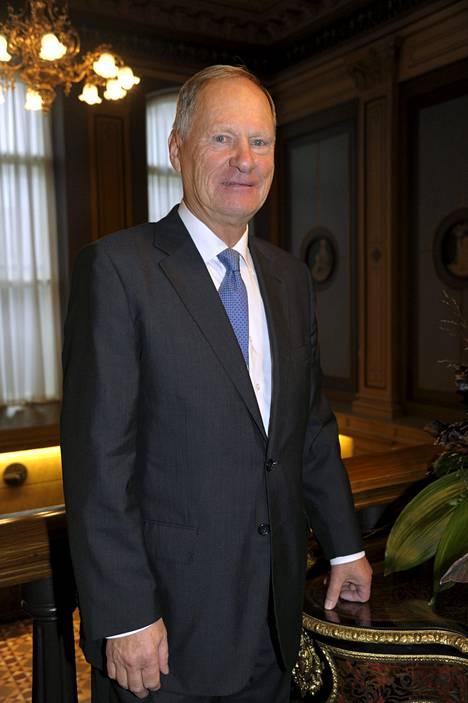 Tampereen pormestari Timo P. Nieminen saa seuraajan tammikuussa.