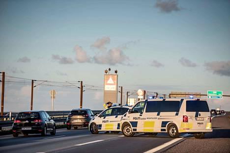 Sjællandin ja Sprogøn saaret yhdistävä Iso-Beltin silta suljettiin perjantaina suuroperaation vuoksi.