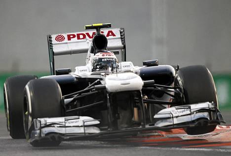 Valtteri Bottas ei ole yltänyt tällä F1-kaudella kertaakaan pisteille.