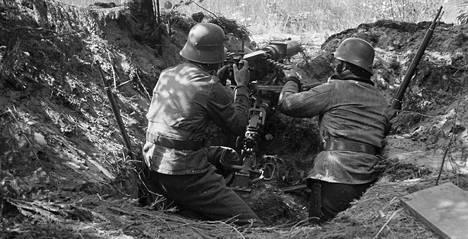 Hangon rintamalla varauduttiin heinäkuussa 1941 puna-armeijan hyökkäykseen.