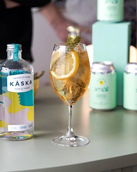 Kåska-yrityksen ensimmäinen tuote oli samanniminen 15-prosenttinen alkoholijuoma.
