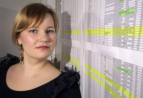 Amnesty Internationalin Suomen-osaston oikeudellinen asiantuntija Susanna Mehtonen.