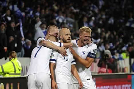 Teemu Pukki johti Suomen voittokulkua Kansojen liigassa ja sen jälkeen EM-karsinnoissa.