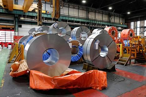 Euro-alueen talouskasvu on laaja-alaista, koska tuotanto on lisääntynyt sekä tehdasteollisuudessa että palveluissa. Kuva Renault'n autotehtaalta Ranskasta.