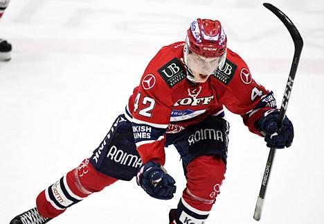 Teemu Eronen ratkaisi Raumalla pelin HIFK:n voitoksi 2–1.