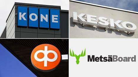 Keskiviikkona osavuosikatsauksensa julkaisevat muun muassa Kone, Kesko, OP ja Metsä Board.