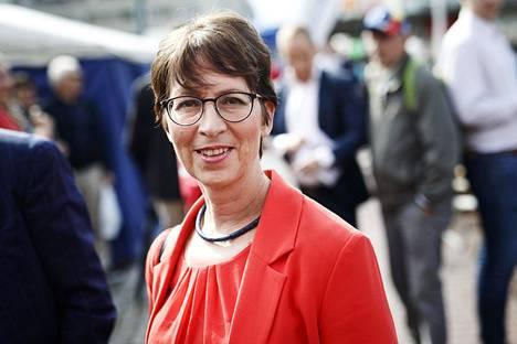 Kristillisdemokraattien puheenjohtaja Sari Essayah.