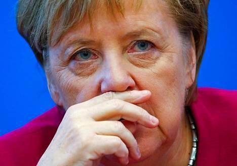 Angela Merkel on on johtanut kristillisdemokraattista CDU-puoluetta 18 vuoden ajan.