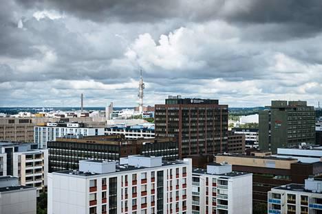 Keski-Pasilan rakentamisen myötä myös Reijo Jallinojan suunnittelema Itä-Pasila on muutoksen kohteena.
