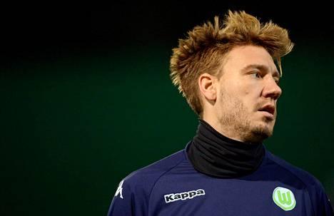 NIcklas Bendtner kuvattuna 7. joulukuuta 2015.