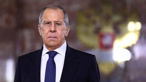 Venäjän ulkoministeri Sergei Lavrov kuvattuna Moskovassa toissa viikon keskiviikkona.