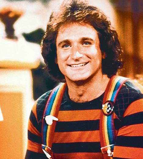 """Nano nano"", sanoi Mork (Robin Williams), ystävä avaruudesta."