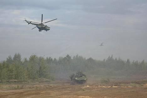 Zapad-harjoitus alkoi torstaina Valko-Venäjällä.