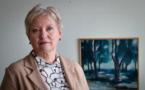 """""""Pelko auttaa meitä olemaan riittävästi valppaana"""", sanoo kriisipsykologi Eija Palosaari."""