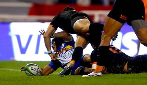 Raju rugby on Argentiinassa suosittu laji. Otteluita pelataan Buenos Airesissa Jose Amalfitani -stadionilla.