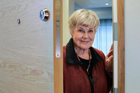 Elisabeth Rehn marraskuussa 2019.