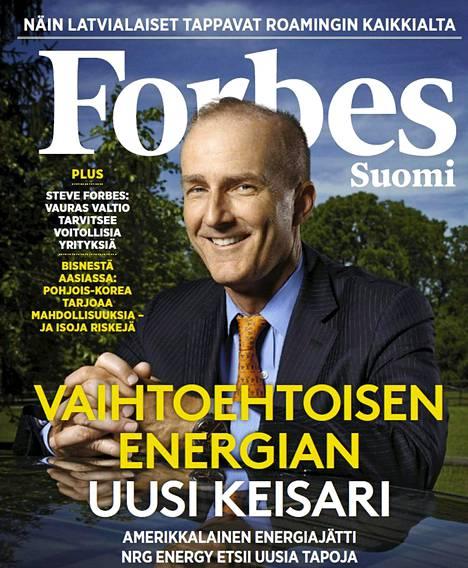 Suomen Forbes julkaisi tammikuussa verkkosivullaan esittelylehden.