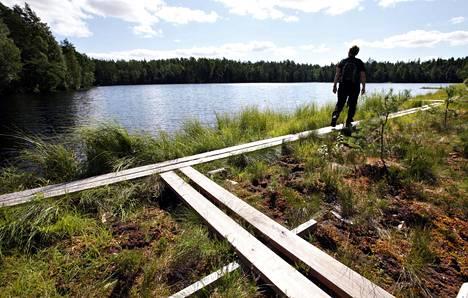Sipoonkorven kansallispuisto on tunnettu ja suosittu retkeilykohde.
