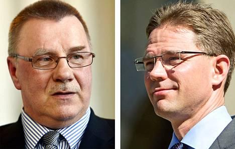 Pentti Oinonen ja Jyrki Katainen