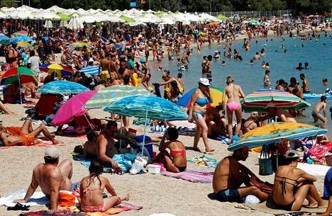 Ennusteen mukaan 35 asteen helle koettelee usein Välimeren aluetta vuosisadan lopulla.