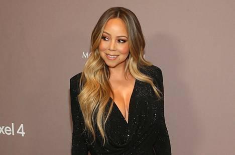 Mariah Carey Hollywood-gaalassa lokakuussa 2019.
