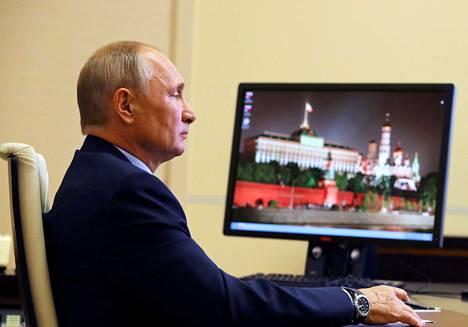 Venäjän presidentti Vladimir Putin torstaina.
