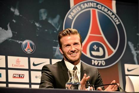 David Beckham on nyt PSG:n mies.
