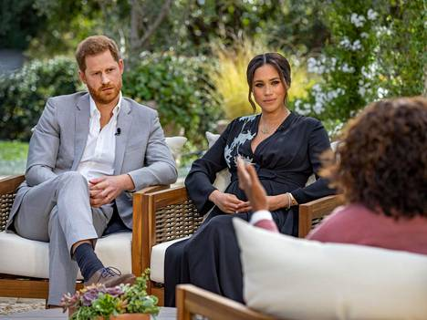 Prinssi Harry ja Meghan Markle antoivat haastattelun Oprah Winfreylle.