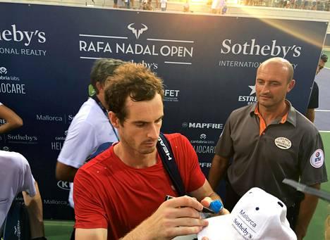 Tenniskentille paluuta tekevä Andy Murray pelaa Yhdysvaltain avoimien sijaan Mallorcalla haastajatason turnauksessa.