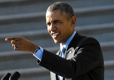 Yhdysvaltojen presidentti Barack Obama