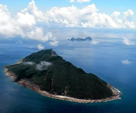 Senkakun saariryhmä sijaitsee Itä-Kiinan merellä Taiwanin koillispuolella.