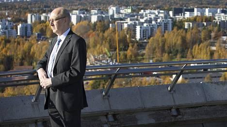 Espoon sosiaali- ja terveystoimen johtaja Juha Metso.