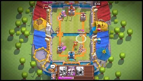 Supercellin Clash Royale -peli julkaistiin useissa maissa maanantaina.