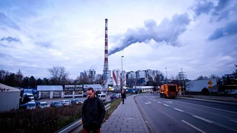 Puolan Krakova on yksi Euroopan saastuneimmista kaupungeista.