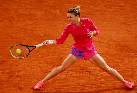 Ykköseksi sijoitettu Simona Halep pelasi erittäin vahvan ottelun Ranskan avoimen mestaruusturnauksen kolmannella kierroksella.