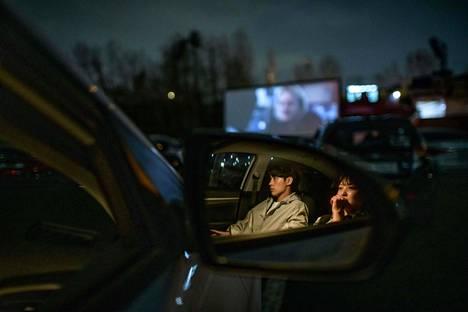 Etelä-Korean drive-in-yrittäjien mukaan asiakasmäärät ovat kasvaneet selvästi koronaepidemian alun jälkeen.