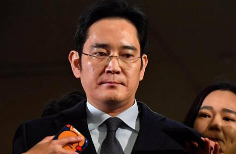 Samsungin johtaja Lee Jae-yong