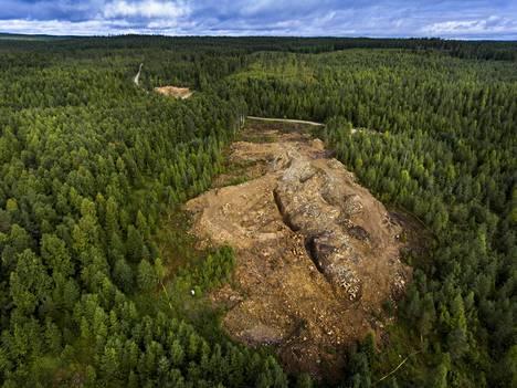 Kaivanto sijaitsee Suomussalmen Kiannanniemessä.