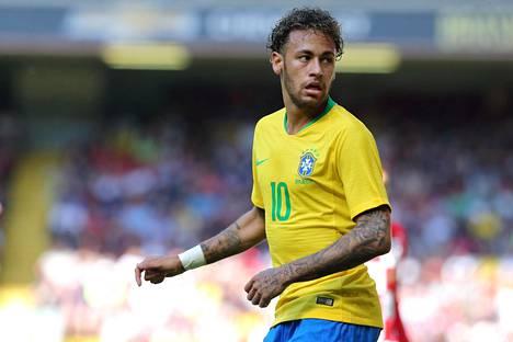 Neymar aikoo johdattaa Brasilian maan kuudenteen MM-kultaan.
